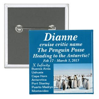 pandilla conocida el 2013 del pingüino del botón d