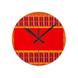 Pandit hindú religioso del Hinduism de Durga del Reloj Redondo Mediano