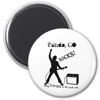 Pando, CO 2 Inch Round Magnet