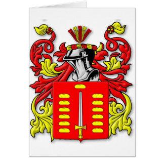 Pando Coat of Arms Card