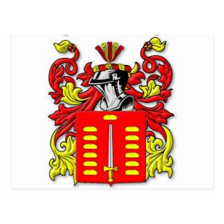 Pando Coat of Arms Postcard