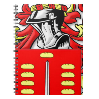 Pando Coat of Arms Spiral Notebook