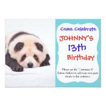 Pandog - cute dog - chow chow card