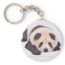 Pandog - cute dog - chow chow keychain
