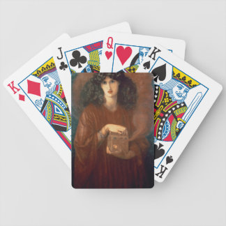 Pandora, 1871 (oil on canvas) bicycle playing cards