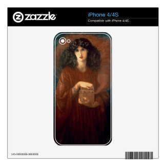 Pandora, 1871 (oil on canvas) decals for the iPhone 4