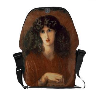 Pandora, 1871 (oil on canvas) messenger bag