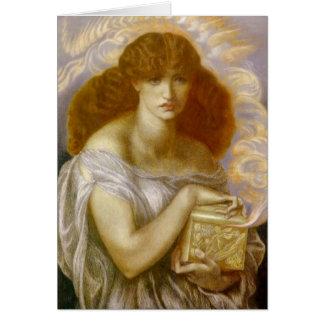 Pandora abre la caja del oro tarjeta de felicitación