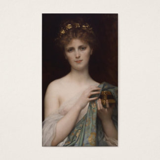 Pandora and the Box Business Card