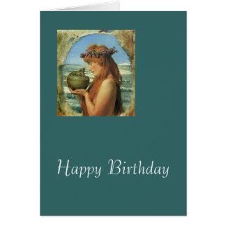 """Pandora"" by Alma-Tadema Cards"