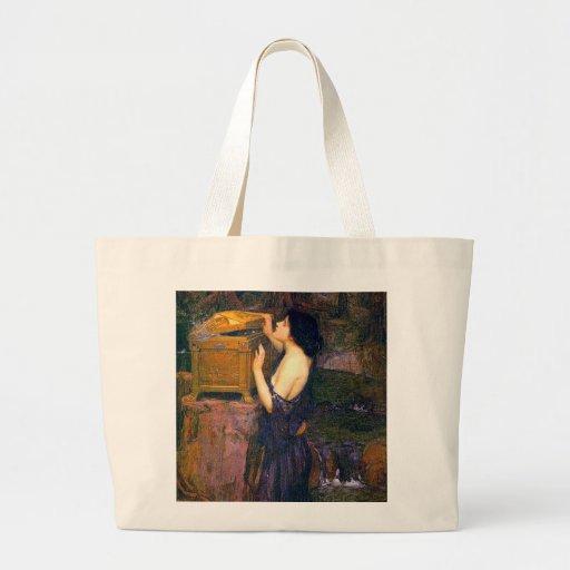 Pandora by John William Waterhouse Jumbo Tote Bag