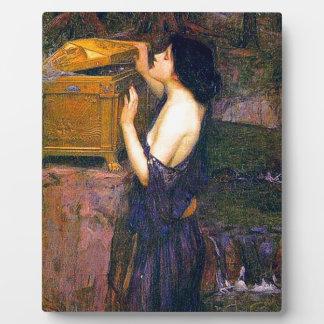 Pandora by John William Waterhouse Plaque