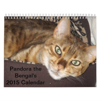 Pandora el calendario de Bengala 2015