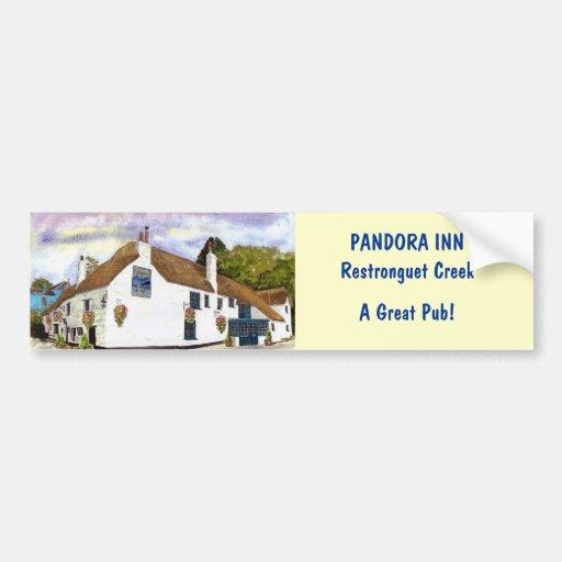 'Pandora Inn' Bumper Sticker