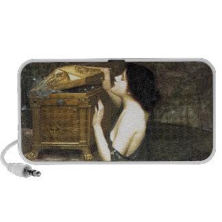 Pandora [John William Waterhouse] Notebook Altavoz
