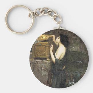 Pandora [John William Waterhouse] Keychain