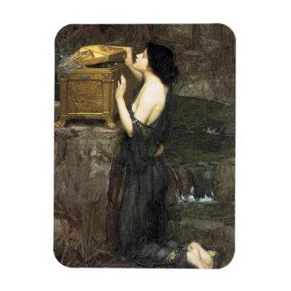 Pandora [John William Waterhouse] Rectangular Photo Magnet