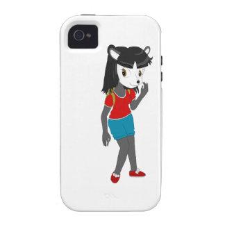 Pandora la panda iPhone 4/4S carcasa