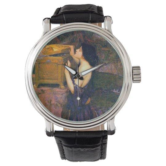 Pandora por el reloj del Pre-Raphaelite del