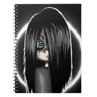 Pandora rings notebook
