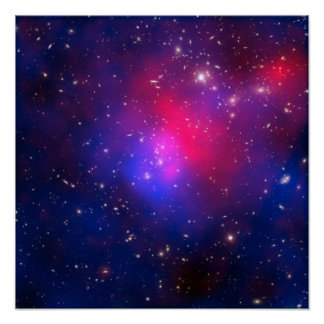 Pandora s Cluster - Abell 2744 Galaxies Poster