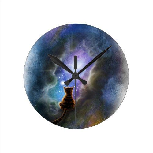 Pandora, Schrodinger's Cat Round Clock
