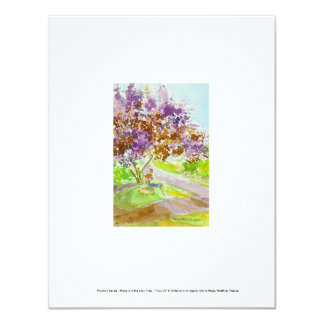 Pandora Series - Hope and the Lilac Tree Card