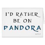 Pandora Tarjetón