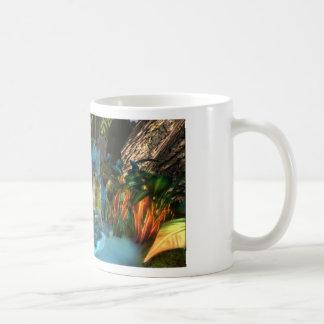 PANDORA UNIVERSE  NA'VI   COLORFUL WATERFALL CLASSIC WHITE COFFEE MUG