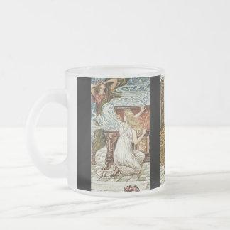 Pandora y la caja prohibida taza cristal mate