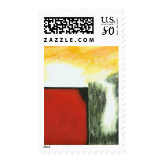 Pandora's Box Medium Postage Stamps From Painting