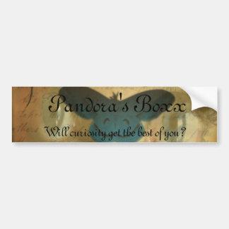 Pandora's Boxx Sticker Bumper Sticker