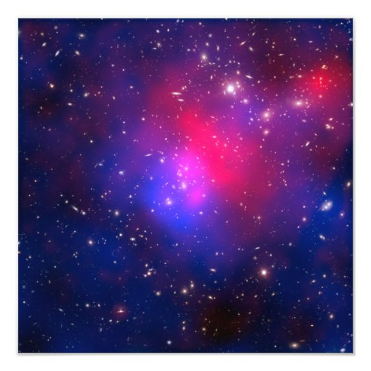Pandora's Cluster - Abell 2744 Galaxies Photo Print