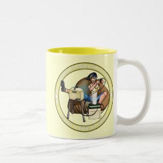pandorasboxbuttongold, Your Gamertag! Two-Tone Coffee Mug