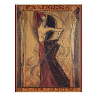 """PANDORRA """"Arturo Van Schendel"""" 1919 Tarjetas Postales"""