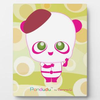 Pandudu Pandas Plaque