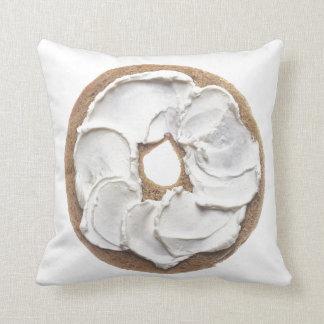 Panecillo con el queso cremoso almohadas