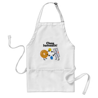 ¡Panecillo y queso cremoso - Chag Sameach! Delantales