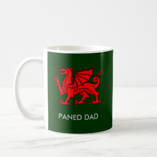 Paned Dad - Dad's Cuppa in Welsh Coffee Mug