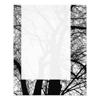 Panel 054 - High Contrast Tree Flyer