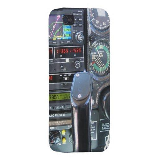 Panel de control iPhone 4 carcasas