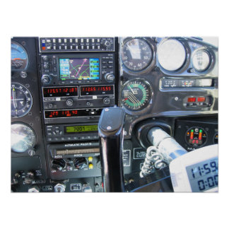 Panel de control poster