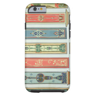 Panel designs, plate XII from 'Modern Ornament' pu Tough iPhone 6 Case