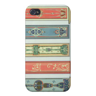 Panel designs, plate XII from 'Modern Ornament' pu iPhone 4/4S Cases