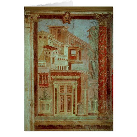 Panel from Cubiculum from the bedroom of the Card