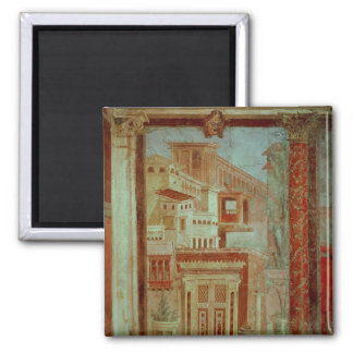 Panel from Cubiculum from the bedroom of the Refrigerator Magnet