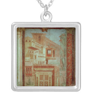 Panel from Cubiculum from the bedroom of the Silver Plated Necklace