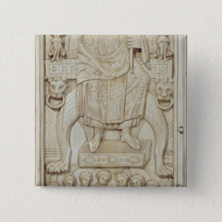 Panel from the Diptych of Consul Areobindus Button