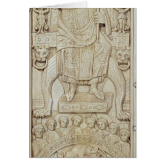Panel from the Diptych of Consul Areobindus Card