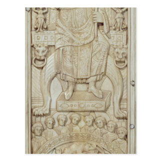Panel from the Diptych of Consul Areobindus Postcard